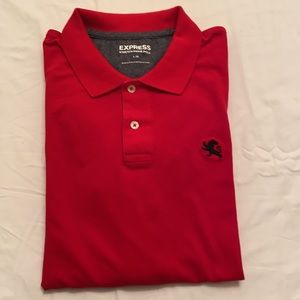 Express Red Polo